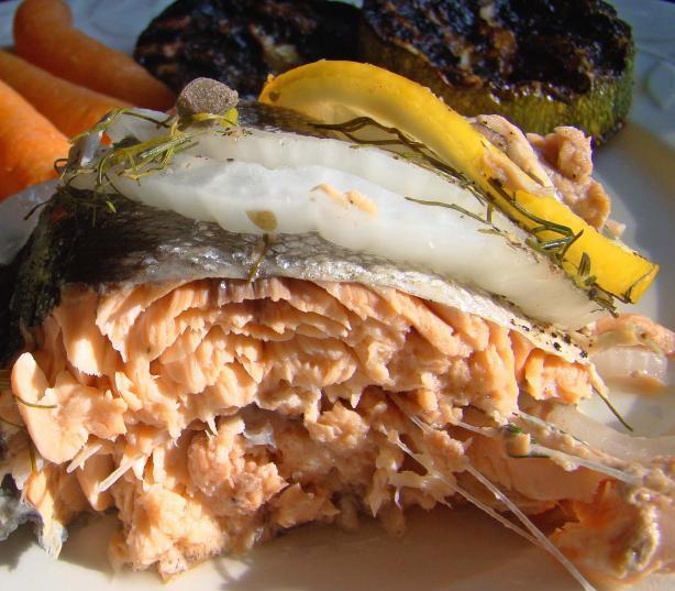 Simple Poached Salmon Recipe — Dishmaps