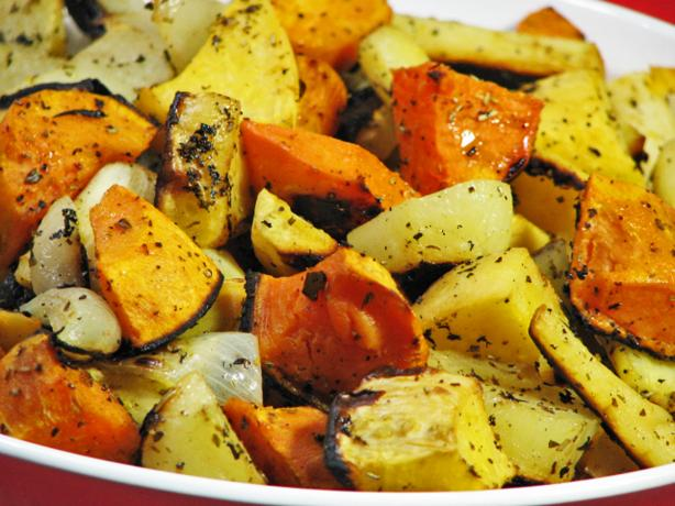 Oven-Roasted Winter Vegetables. Photo by Kerfuffle-Upon-Wincle