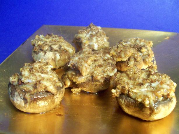 Easy Stuffed Mushrooms. Photo by Sharon123