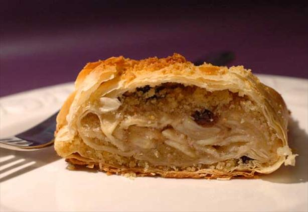 Apple Strudel. Photo by Sackville