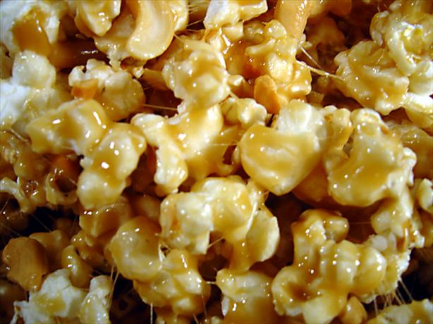 Microwave Caramel Popcorn. Photo by Sue Lau