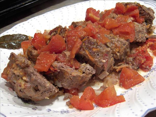 Meatloaf With Tangy Tomato Gravy Recipe - Food.com
