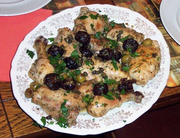 Chicken Marbella. Photo by Heather #2