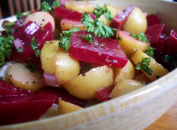 New Potato Salad. Photo by *Parsley*