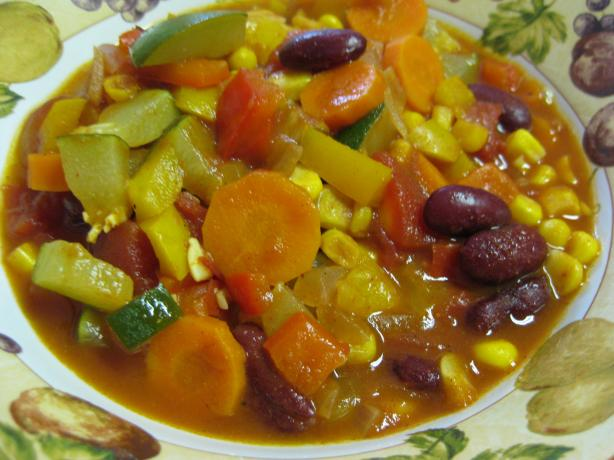 Spicy Vegetarian Chili. Photo by Charlotte J