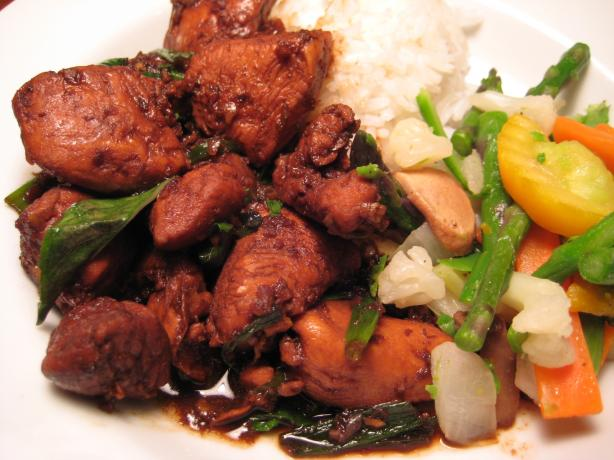 Three-Cup Chicken Recipe - Chinese.Food.com