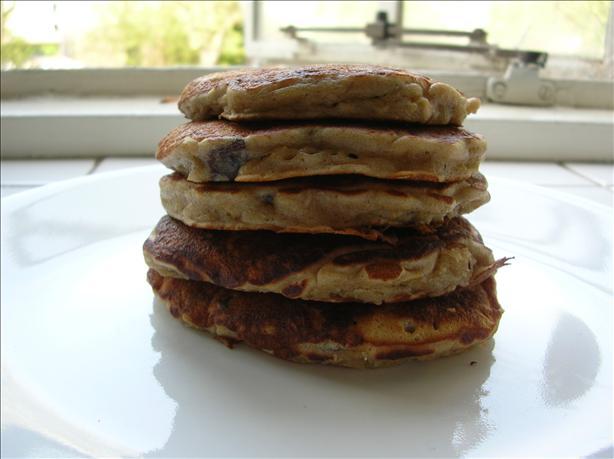 Banana, Raisin, And Oatmeal Pancakes Recipe - Food.com