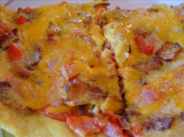 Bacon Tomato Frittata. Photo by CountryLady