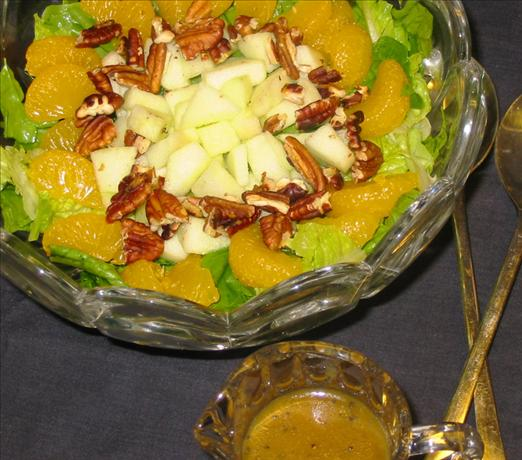 Spinach Romaine Salad With Poppy Seed Dressing And Mandarin Or Recipe ...