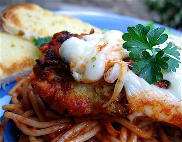 Easy Chicken Parmigiana. Photo by Juju Bee