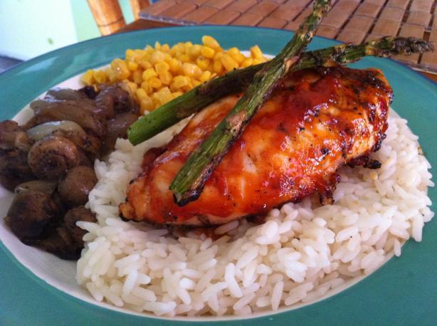 Best Ever BBQ Chicken. Photo by Veggie Girl Kacey