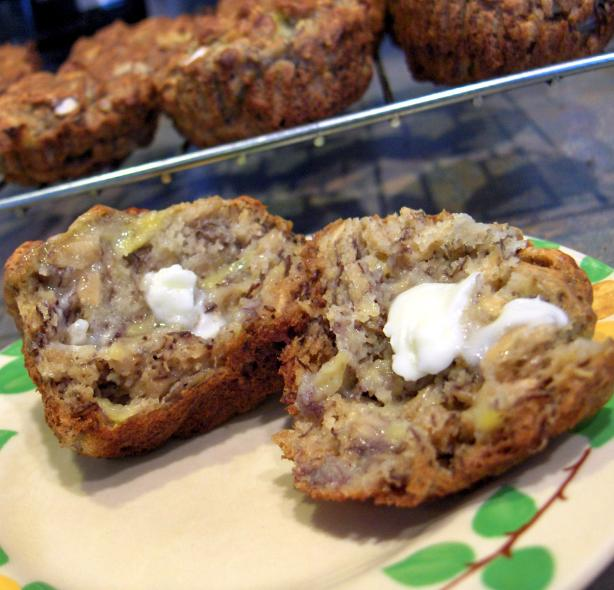 Banana Oat Muffins. Photo by Derf