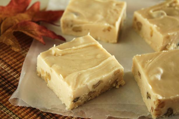 Maple Walnut Fudge. Photo by Delicious as it Looks