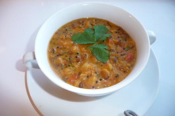 Mulligatawny Soup With Lentils Recipe - Indian.Food.com