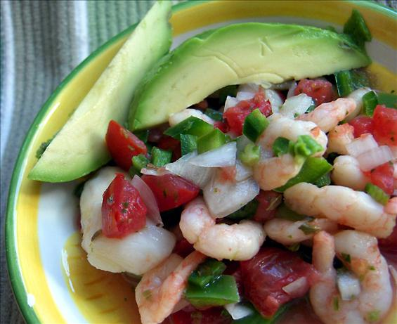 Mexican Ceviche Tacos Recipe — Dishmaps