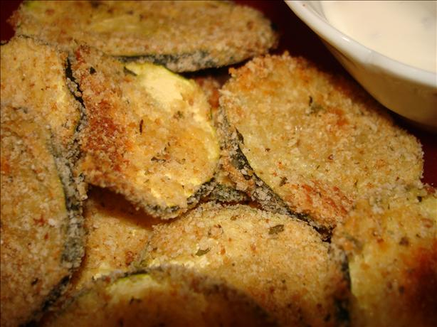 Breaded 'n Baked Zucchini Chips. Photo by Vicki in CT