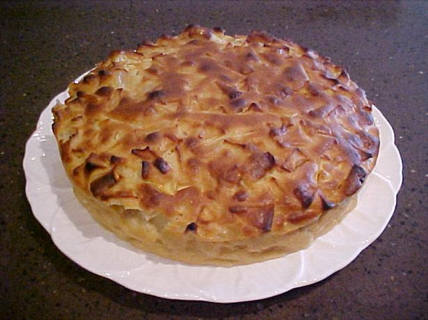 Apple or pear clafouti an easy french dessert recipe for Apple pear recipes easy