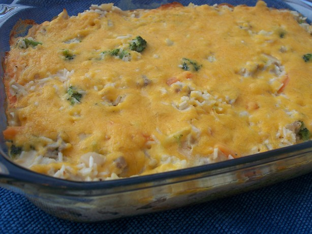 Creamy Chicken and Rice Bake. Photo by *Parsley*