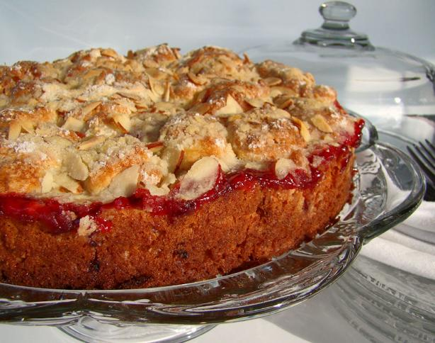 Cherry Streusel Coffee Cake. Photo by Marg (CaymanDesigns)