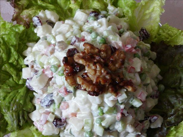 Pears, Celery, Peas, Dried Cranberries, And Walnut Salad Recipe - Food ...