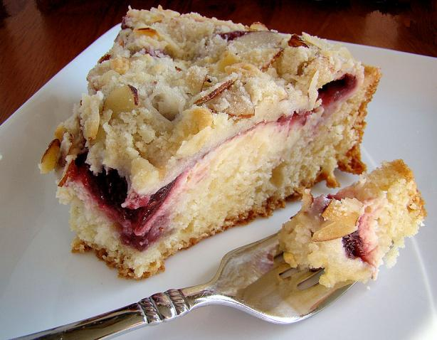 Raspberry Cream Cheese Coffee Cake. Photo by Marg (CaymanDesigns)
