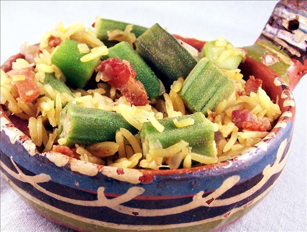 Okra Pilau Recipe - Soul.Food.com
