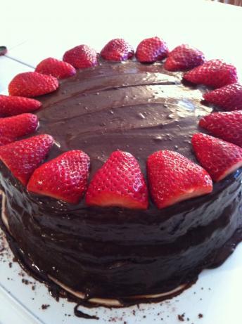 Chocolate Tres Leches Cake. Photo by moniqueandmusic
