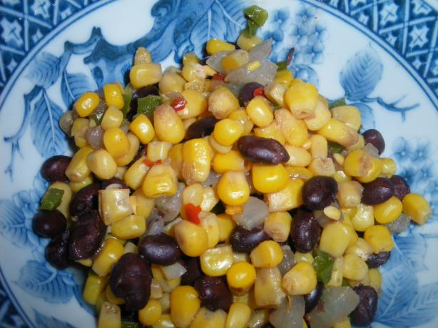 Spicy Corn And Black Beans Recipe - Food.com