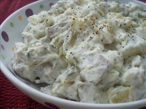 Dill and Sour Cream Potato Salad. Photo by *Parsley*