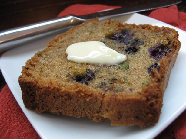 Blueberry Zucchini Bread Recipe - Blue.Food.com
