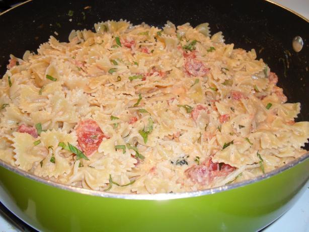 Pasta In Tomato Cream Sauce Recipe - Food.com