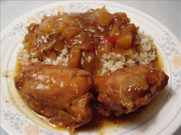 Crock Pot Chinese Chicken With Pineapple Recipe - Chinese.Food.com