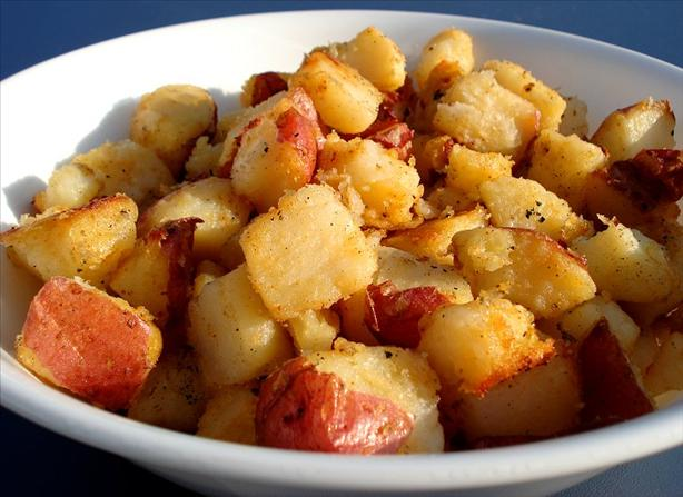 Grilled Potatoes or Roasted Potatoes on the Grill. Photo by Marg ...