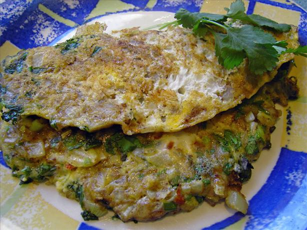 Indian Spiced Omelet. Photo by JustJanS