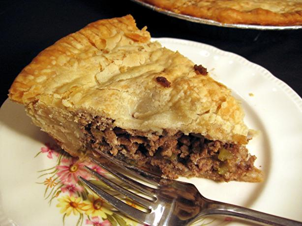 Tourtiere (French Canadian Meat Pie) - Dairy Free. Photo by Dreamer in ...