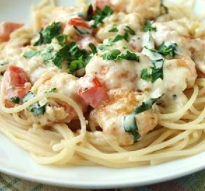 Top copycat restaurant recipes revealed - Olive garden shrimp scampi calories ...