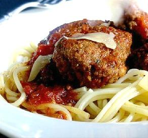 sunday gravy spaghetti meatballs made this sunday for dinner the whole ...