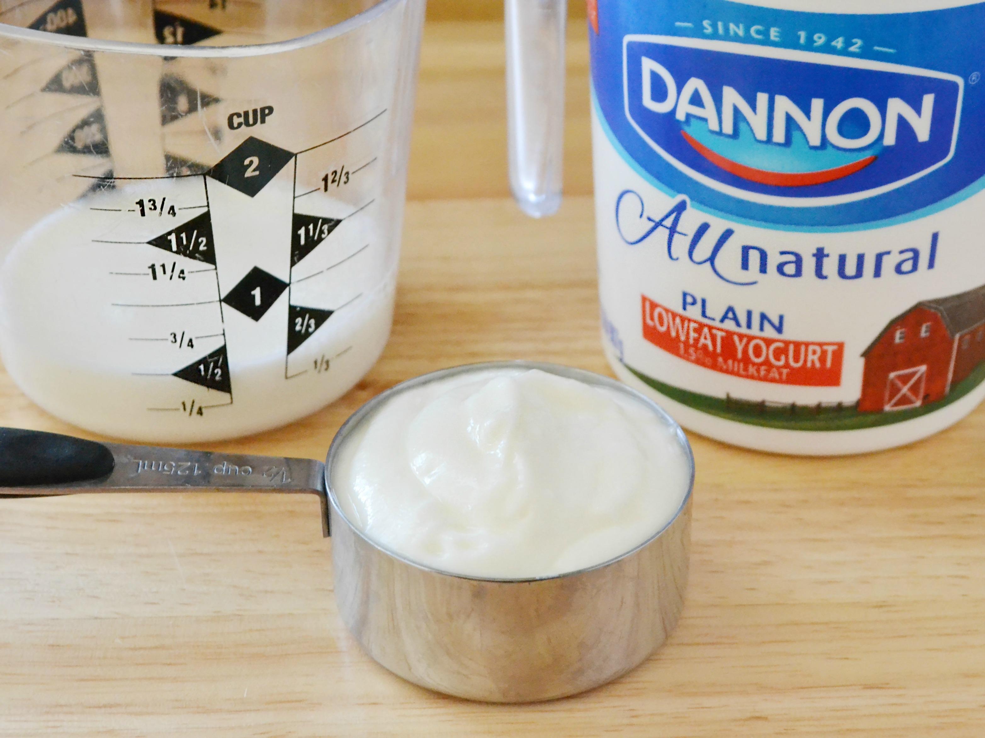 creme fraiche substitute yogurt