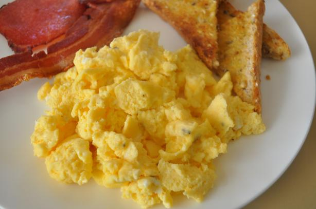 scrambled eggs in the microwave jims microwave scrambled eggs recipe food 31461