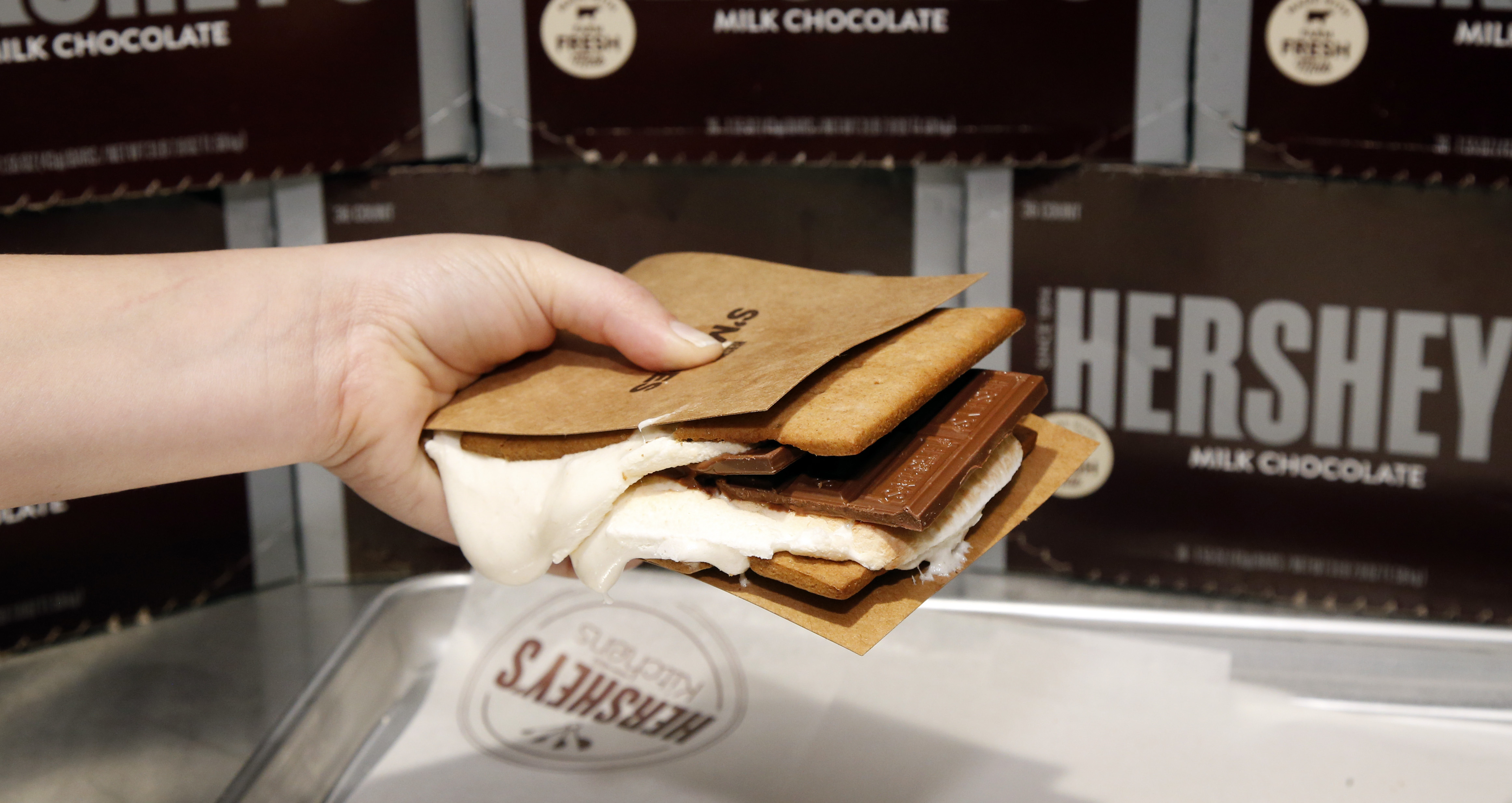 Customize Your Own Candy Bars At The New Hersheys Chocolate World ...