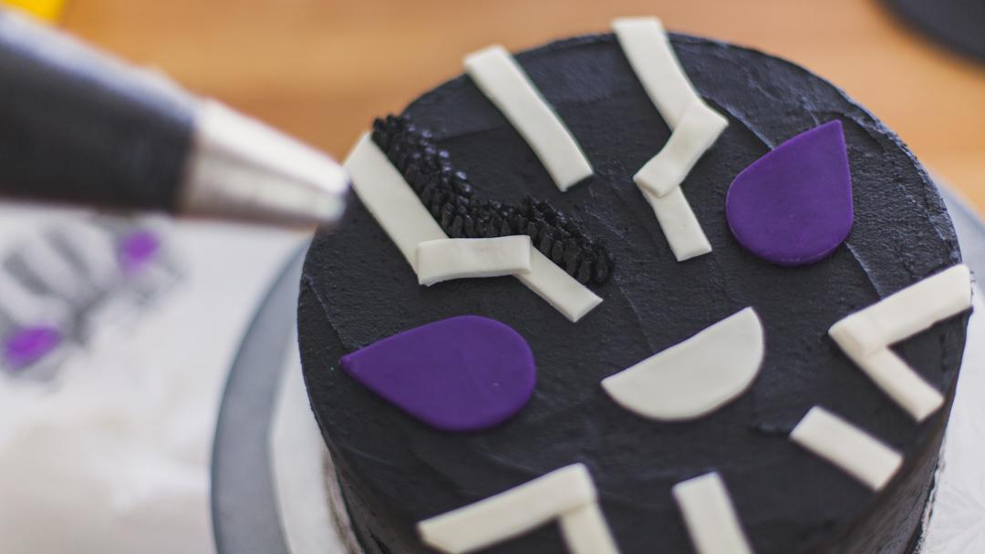 Black Panther Cake Genius Kitchen